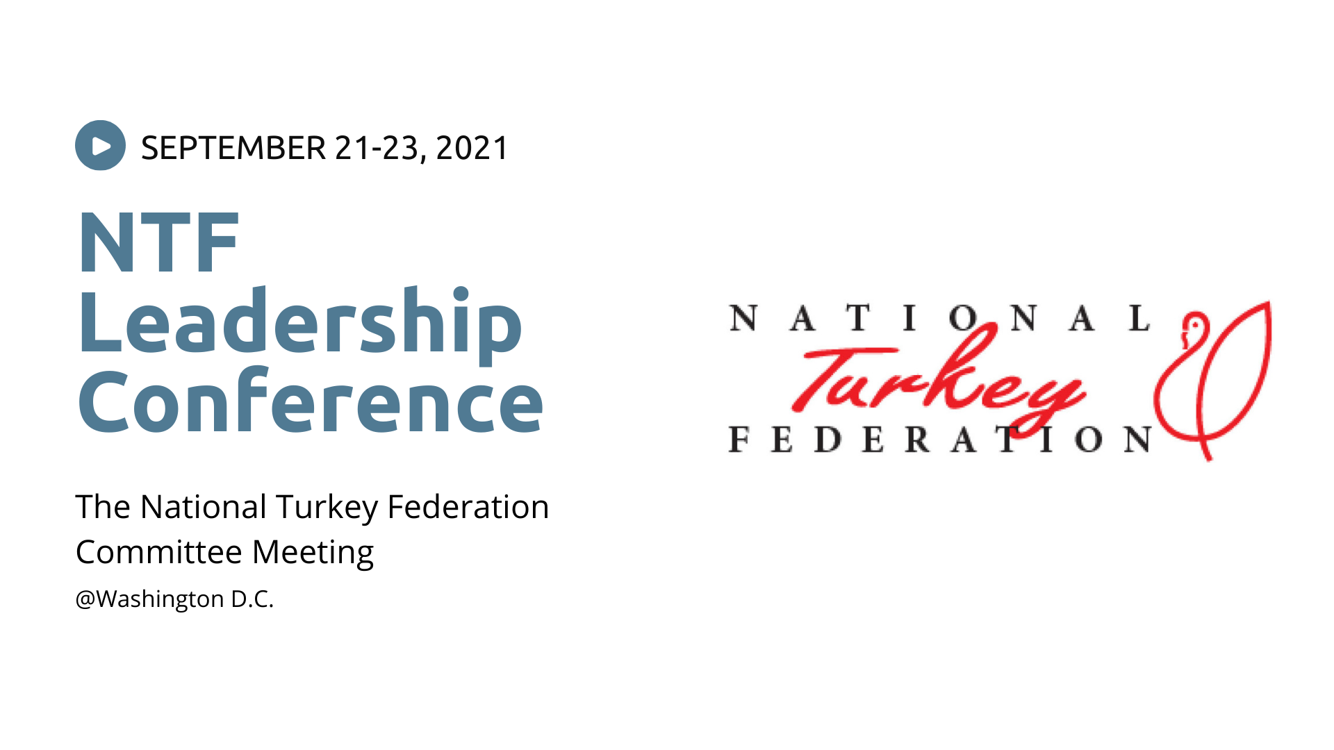NTF Leadership Conference