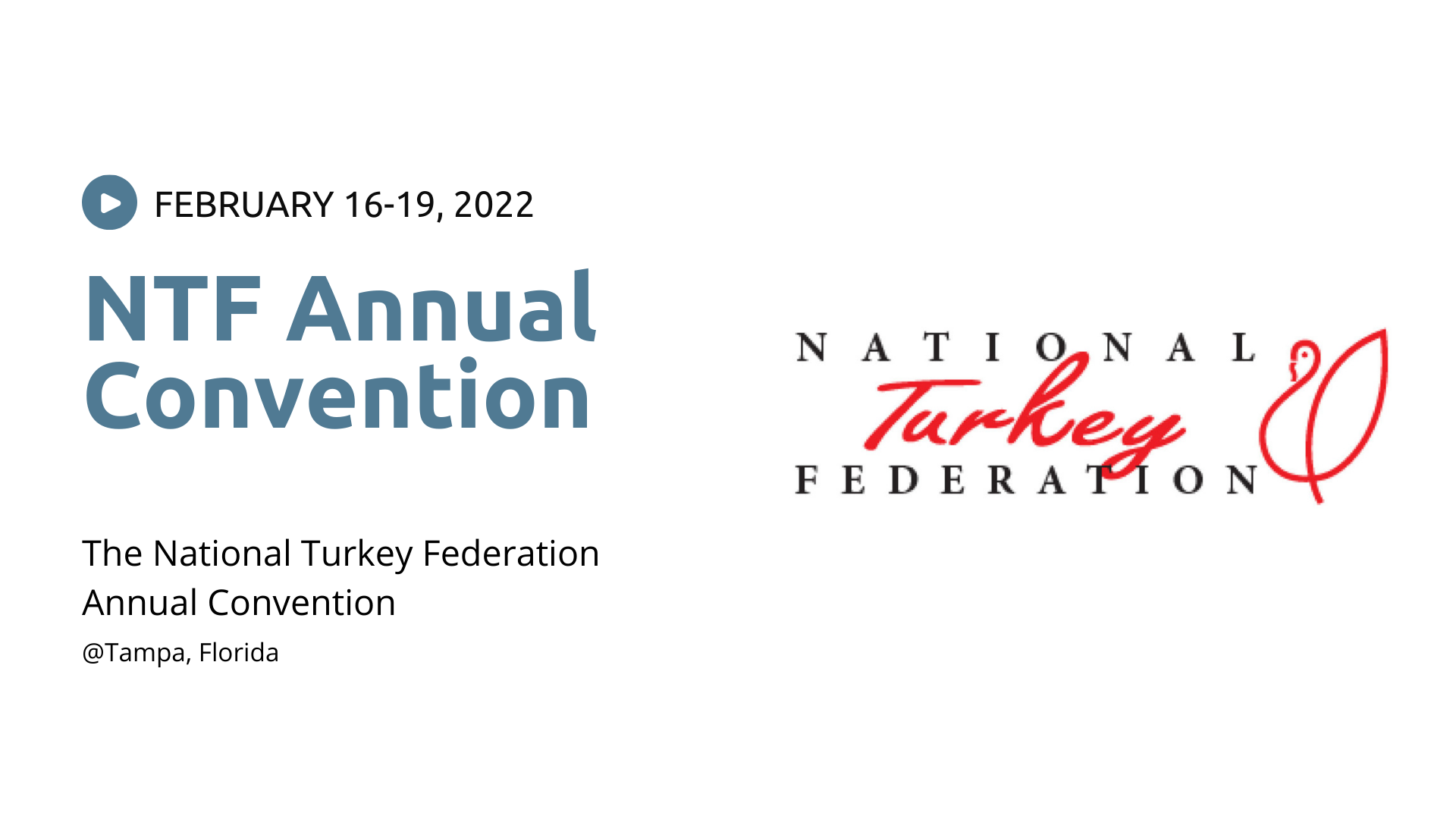 NTF Annual Convention